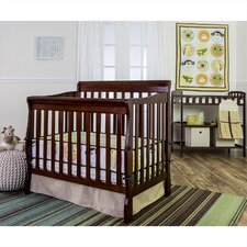 Animal Kingdom 5 Piece Reversible Portable Crib Bedding Set