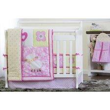 Naptime 5 Piece Reversible Portable Crib Bedding Set