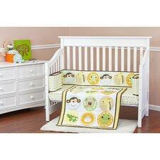 Animal Kingdom 3 Piece Crib Bedding Set
