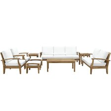 Berth 9 Piece Deep Seating Group with Cushions