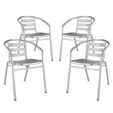 Perch Dining Arm Chair (Set of 4)