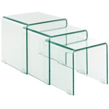 Avalanche 3 Piece Nesting Table Set