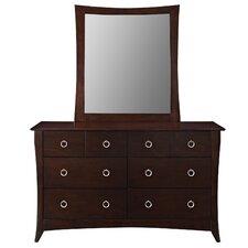 Elizabeth 6 Drawer Dresser Mirror