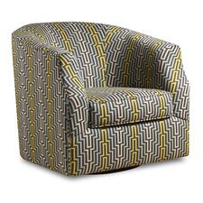 Linwood Swivel Barrel Chair