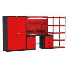 Fort Knox Secure Storage Modular Wood Top Workbench