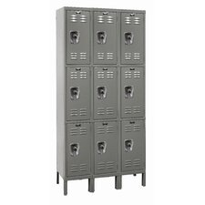 ReadyBuilt 3 Tier 3 Wide School Locker