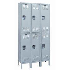 MedSafe 2 Tier 3 Wide School Locker