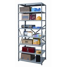 Hi-Tech Heavy-Duty Open Type 8 Shelf Shelving Starter Uni