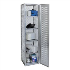 Visibility 5 Tier 1 Wide All-Welded Stock Locker