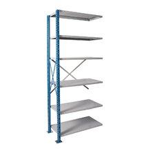 H-Post High Capacity Open Style 7 Shelf Shelving Unit Add-on