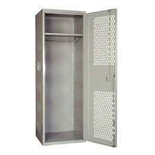 Welded 1 Tier 1 Wide High Security Locker