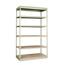 Rivetwell Single Rivet Boltless Shelving 6 Levels