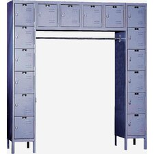 Premium 6 Tier 16 Person Locker