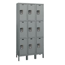 Maintenance-Free 3 Tier 3 Wide Quiet Box Locker