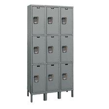 Maintenance-Free 3 Tier 3 Wide Quiet Locker