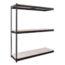 Rivetwell Double Boltless 3 Shelf Shelving Unit Add-on