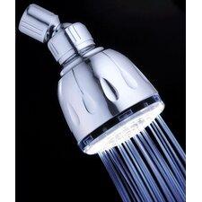 Fading Color Fixed LED Illuminated Shower Head
