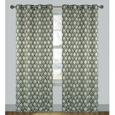 Medallion 'Moroccan Tile' Grommet Curtain Panels (Set of 2)