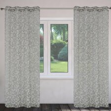 Mystic Burnout Grommet Curtain Panels (Set of 2)