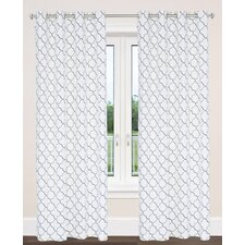 Brighton Moroccan Tile Curtain Panel (Set of 2)