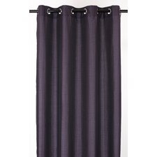 Vegas Lined Faux Silk Grommet Curtain Panel
