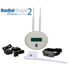 Radial Shape 2 Wireless Dog Electric Fence