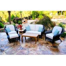 Lexington Loveseat 6 Piece Deep Seating Group with Cushion