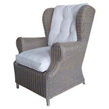 Outdoor Cottage Deep Seating Wing Chair