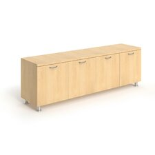 "Currency 4 Door 72"" Credenza"