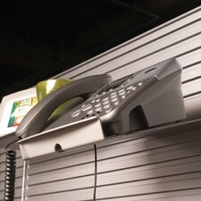 Details® Slatwall Telephone Caddy