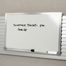 Worktools Marker Wall Mounted Whiteboard, 1' x 1'