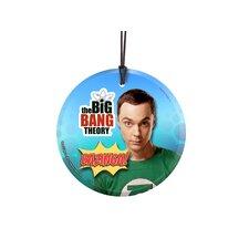 Big Bang Theory (Bazinga) Star Fire Prints Hanging Glass Wall Décor