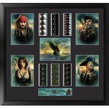 Pirates of the Caribbean On Stranger Tides Montage FilmCell Presentation Framed Memorabilia
