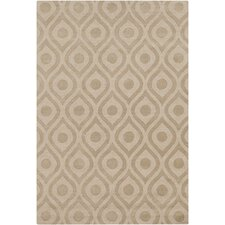 Central Park Beige Geometric Zara Area Rug
