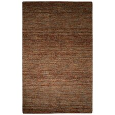 Alton Hand-Loomed Brown Area Rug