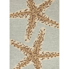 Grant I-O Blue/Brown Indoor/Outdoor Area Rug