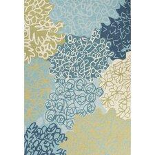 Brio Hand-Tufted Blue/Green Area Rug