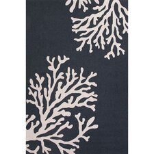 Grant I-O Blue/Ivory Indoor/Outdoor Area Rug