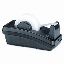 Notes Dispenser w/Weighted Base, Plastic, 11 7/8 x 2 1/2 x 7 3/4, Gray