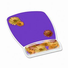 3M Gel Wrist Rest with Fun Design Mouse Pads With Wrist Rests