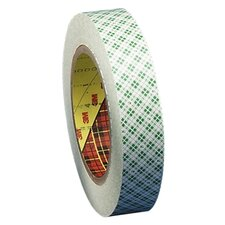 """Double-Coated Tape, 3"""" Core, 1""""x36 Yards, Off-White"""