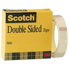 """Double-sided Tape, With Liner, 3""""Core, 1""""x36Yards, Clear"""