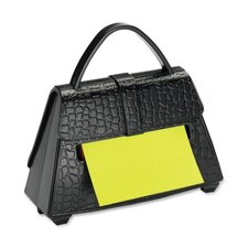 "Post-it Note Dispenser, w/ 50sh Pad, 3""x3"", Purse Shaped"