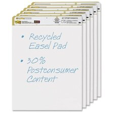 Post-it Repositionable Self-Stick Easel Pads (6 Per Pack)
