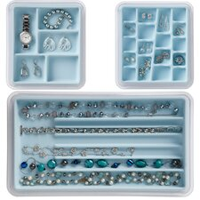 18 and 5 Compartment Necklace Jewelry Stax Combo Pack