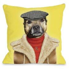Pets Rock Dog Boy Throw Pillow