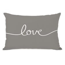"""Love"" Mix + Match Lumbar Pillow"
