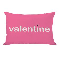 Be Mine/Valentine Reversible Lumbar Pillow