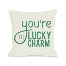 You're My Lucky Charm Throw Pillow