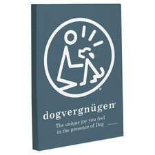 Doggy Decor Dogvernugen Graphic Art on Wrapped Canvas